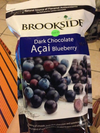 Dark Chocolate covered Acai & Blueberry