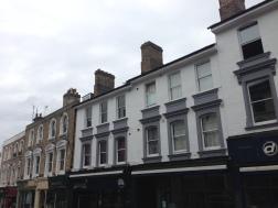 Shops along the Pantiles Upperwalk