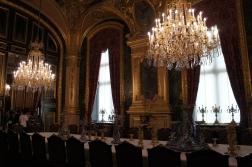 Inside Versailles dining hall