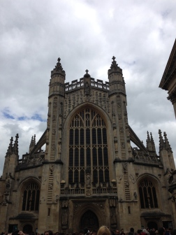 The Cathedral in Bath