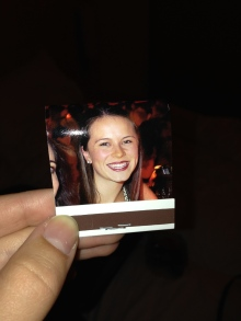 My face on a Moulin Rouge matchbook... Yeah