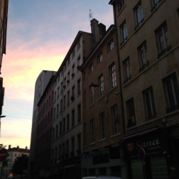 Walking the streets of Lyon