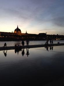 The Lyon riverfront