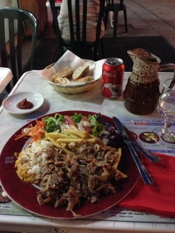 Kebab for dinner!